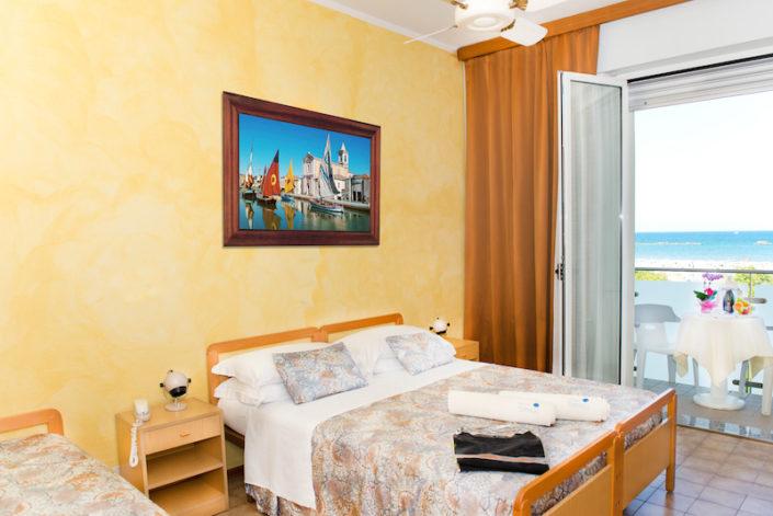 Hotel Cesenatico Camere Vista Mare Albergo 3 stelle